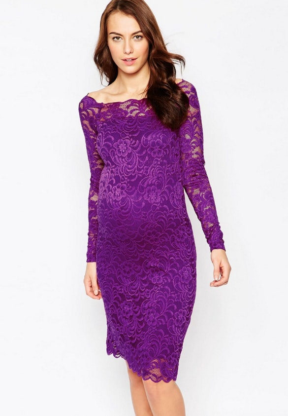 13 New Year\'s Eve Maternity Dresses That\'ll Make You & Your Bump Shine