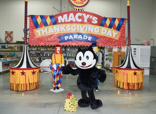 MOONACHIE, NJ - NOVEMBER 15:  Macys unveils new floats in advance of the 90th Macys Thanksgiving Day Parade on November 15, 2016 in Moonachie City.  (Photo by Dave Kotinsky/Getty Images for Macy's)