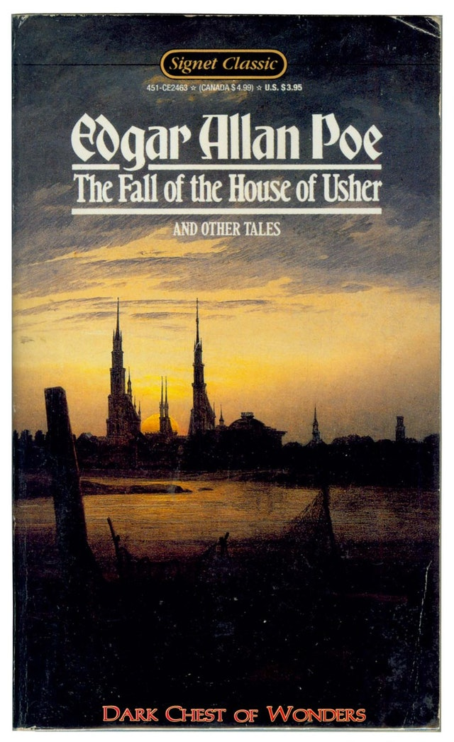the literary elements used by edgar allan poe in the story the fall of the house of usher Most people know edgar allan poe for his  in 'the fall of the house of usher,' poe most certainly reflects the horrific themes  explain the gothic and dark romantic elements of the story.