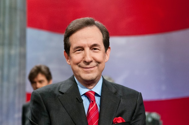 WASHINGTON, DC - APRIL 21: Chris Wallace speaks during a rehearsal before a taping of  Jeopardy! Power Players Week at DAR Constitution Hall on April 21, 2012 in Washington, DC. (Photo by Kris Connor/Getty Images)