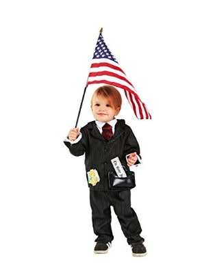 If youu0027re looking for an easy costume to buy with just the click of the button this toddler tycoon costume ($40) is perfect for your tyke American flag ...  sc 1 st  Romper & 7 Funny Donald Trump Costumes For Babies That Will Actually Make ...