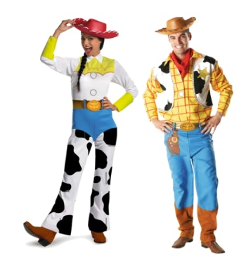 Help all the critters this Halloween as you and your partner dress in a Jessie costume ($50) and a Woody costume ($75) ...  sc 1 st  Romper & 13 Feminist Couples Costumes For An Empowered Pair