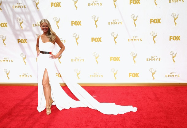 LOS ANGELES, CA - SEPTEMBER 20:  TV personality Nancy O'Dell attends the 67th Annual Primetime Emmy Awards at Microsoft Theater on September 20, 2015 in Los Angeles, California.  (Photo by Mark Davis/Getty Images)