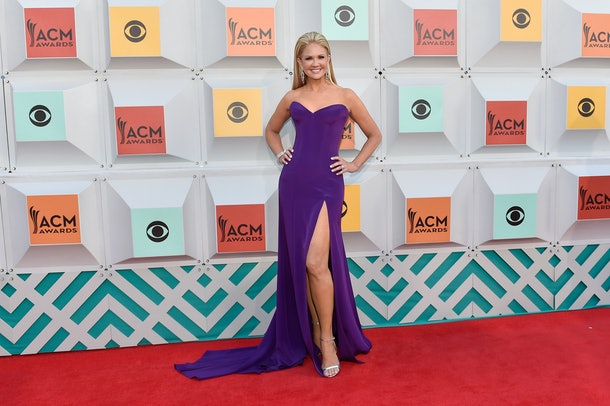 LAS VEGAS, NEVADA - APRIL 03:  TV personality Nancy O'Dell attends the 51st Academy of Country Music Awards at MGM Grand Garden Arena on April 3, 2016 in Las Vegas, Nevada.  (Photo by David Becker/Getty Images)