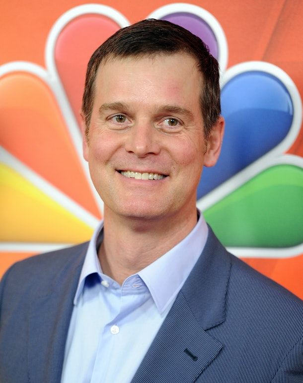 PASADENA, CA - JANUARY 16:  Actor Peter Krause arrives at NBCUniversal's 2015 Winter TCA Tour - Day 2 at The Langham Huntington Hotel and Spa on January 16, 2015 in Pasadena, California.  (Photo by Angela Weiss/Getty Images)
