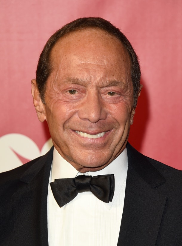 LOS ANGELES, CA - FEBRUARY 13:  Singer Paul Anka attends the 2016 MusiCares Person of the Year honoring Lionel Richie at the Los Angeles Convention Center on February 13, 2016 in Los Angeles, California.  (Photo by Jason Merritt/Getty Images)