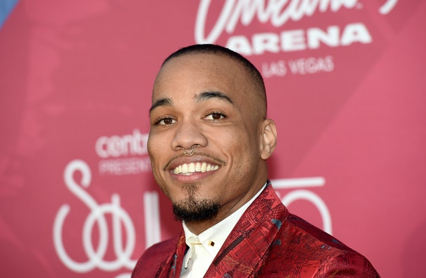 LAS VEGAS, NV - NOVEMBER 06:  Recording artist Anderson .Paak attends the 2016 Soul Train Music Awards at the Orleans Arena on November 6, 2016 in Las Vegas, Nevada.  (Photo by Ethan Miller/Getty Images)