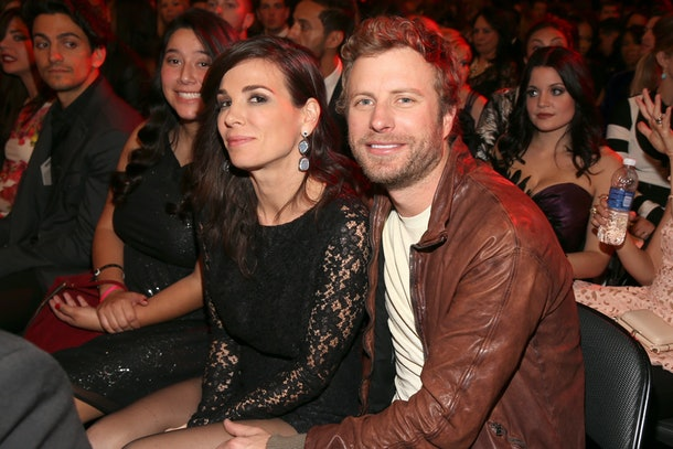who is dierks bentley married to? his childhood sweetheart likes her