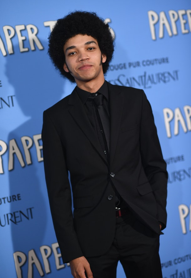 NEW YORK, NY - JULY 21:  Actor Justice Smith attends the 'Paper Towns' New York Premiere  at AMC Loews Lincoln Square on July 21, 2015 in New York City.  (Photo by Dimitrios Kambouris/Getty Images)