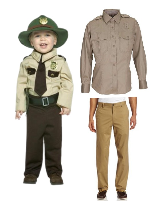 Tan Police Uniform $27 Walmart | Tan Long Sleeve Shirt $27 Amazon | Khaki Pants $26 Amazon  sc 1 st  Romper & A Hopper From u0027Stranger Thingsu0027 Halloween Costume Thatu0027s Perfect For ...