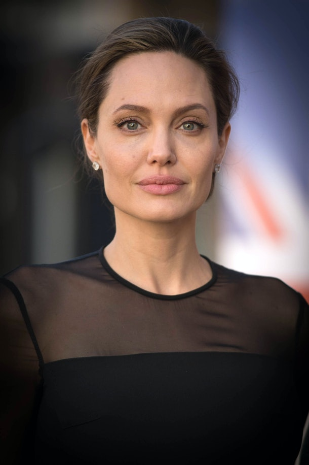 LONDON, ENGLAND - SEPTEMBER 8:  UN Special Envoy, Angelina Jolie arrives at the UN Peacekeeping Defence Ministerial at Lancaster House on September 8, 2016 in London, England. (Photo by Stefan Rousseau - WPA Pool/Getty Images)