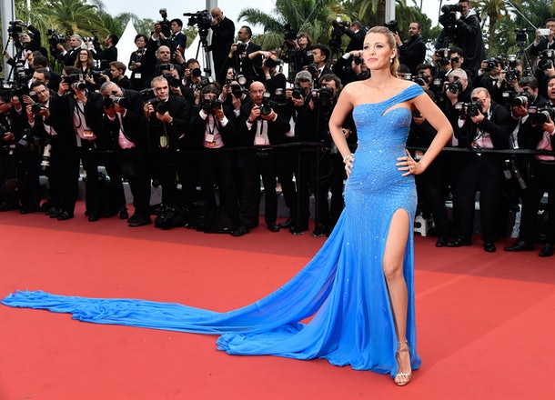 CANNES, FRANCE - MAY 14:  Blake Lively attends 'The BFG (Le Bon Gros Geant - Le BGG)' premiere during the 69th annual Cannes Film Festival at the Palais des Festivals on May 14, 2016 in Cannes, France.  (Photo by Pascal Le Segretain/Getty Images)