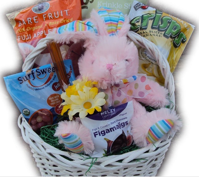 Where to buy easter baskets online so you can make sunday morning bunny love healthy easter basket 55 amazon negle Choice Image