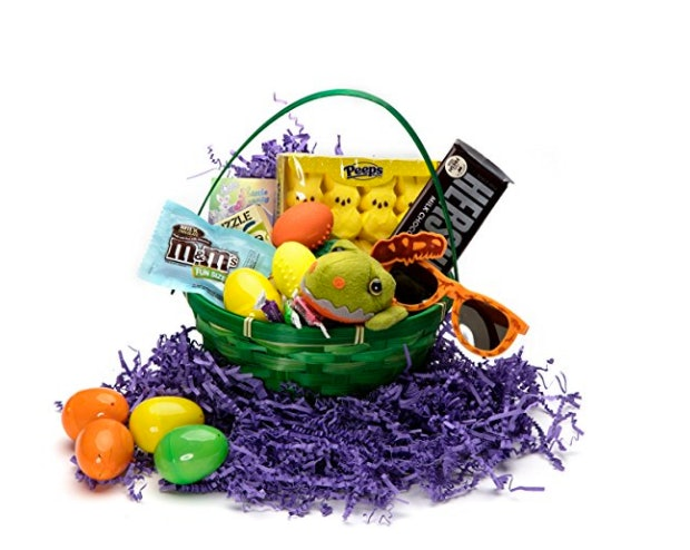 Where to buy easter baskets online so you can make sunday morning dinosaur theme gift basket 40 amazon negle Gallery