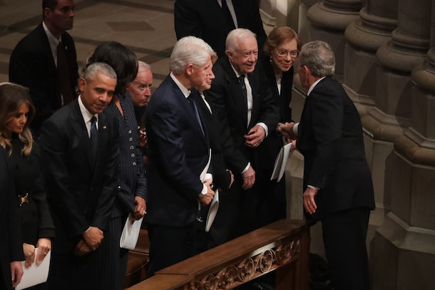Photos From George H W Bush S Funeral Service Show All 5