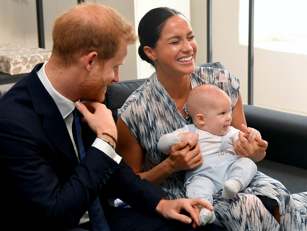 Prince Harry with Meghan Markle & son Archie in Capetown, South Africa