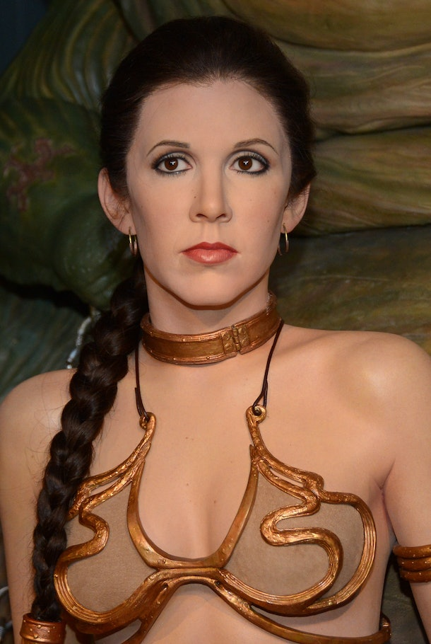 Princesses who are badasses lead empires, like Princess Leia from Star Wars