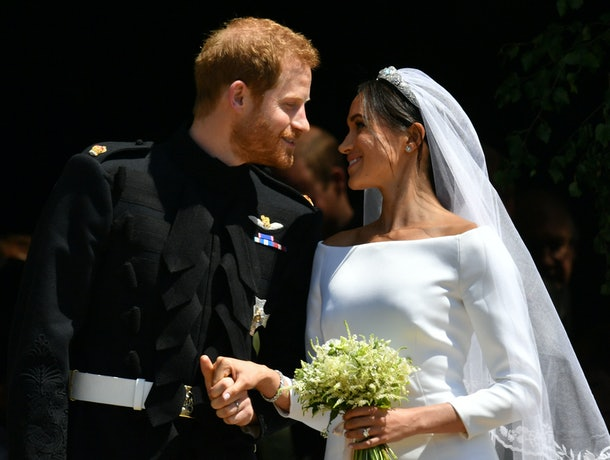 Prince Harry handpicked flowers from his and Meghan Markle's private garden at Kensington Palace to add to her bridal bouquet.