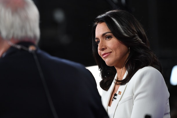 Rep. Tulsi Gabbard is one of the 2020 Democratic candidates who has signed on as a co-sponsor to the FAMILY Act.