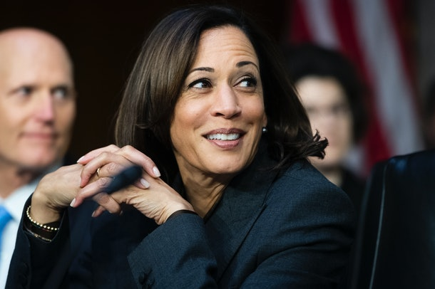 Sen. Kamala Harris is one of the 2020 Democratic candidates who has advocated for a six-month paid family leave policy.