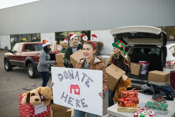 Donate any gifts you know you or your children will never use to those in need.