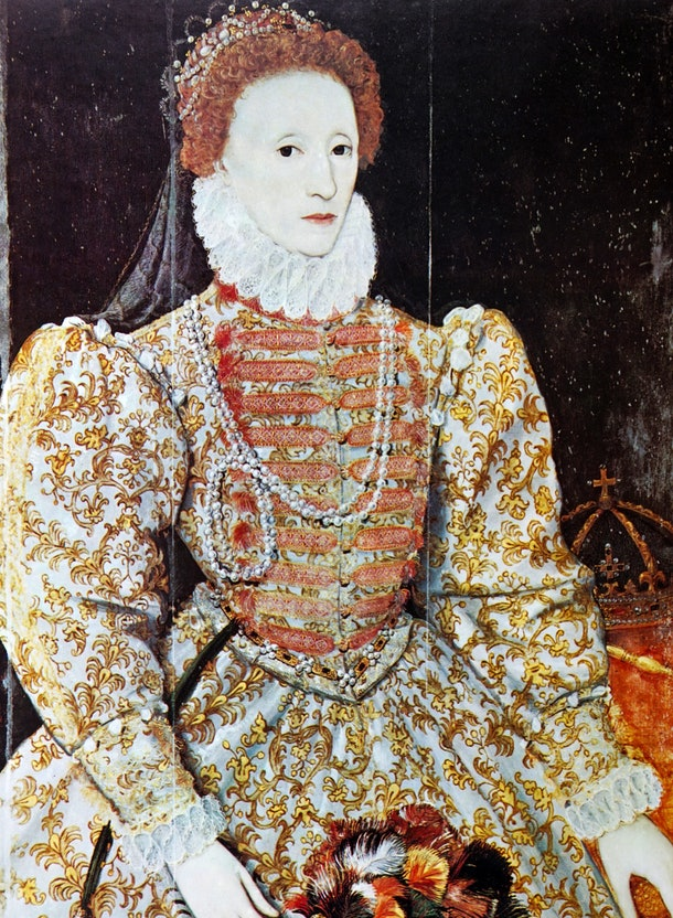 It's unclear how a myth claiming Queen Elizabeth I was really a man in disguise was first began.