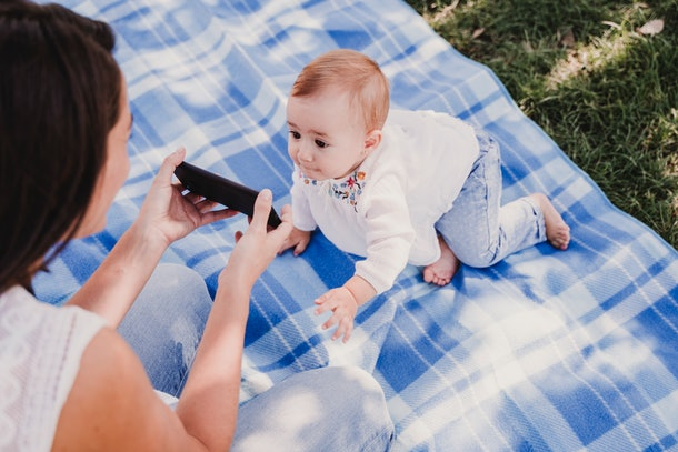 Experts say your babies are as stimulated by your cell phone as you are.
