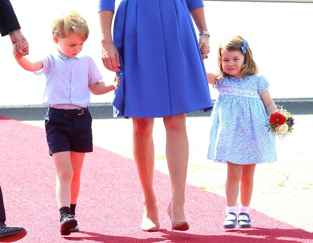 Princess Charlotte was already stealing scenes in 2017.