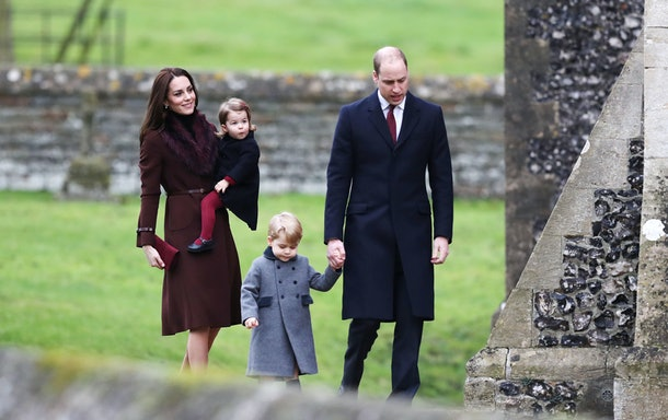 Kate Middleton and Prince William take their kids to church for Christmas at Sandringham Estate