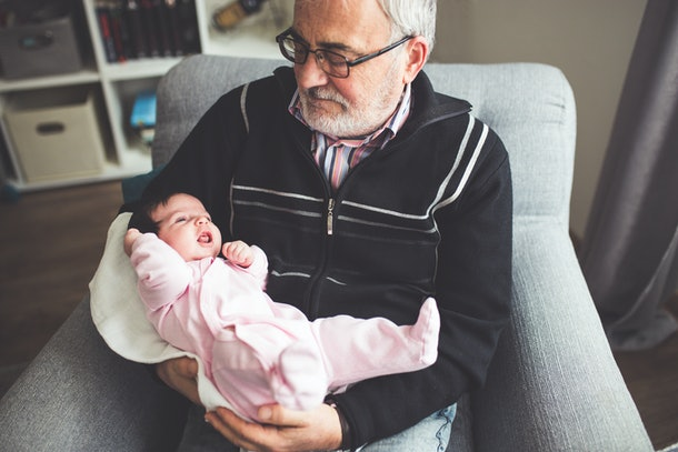 Capture the moment grandparents fall in love with their grandbabies with these Instagram captions for baby meeting grandparents.