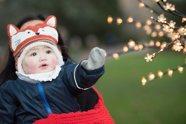 Experts say if you notice your baby's skin paler than usual, it could mean they're a little too cold.