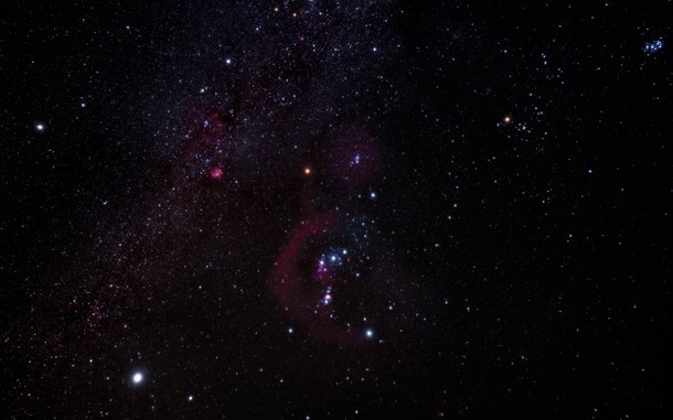 Orion is a sweet baby name to honor the stars in the night sky on Winter Solstice.