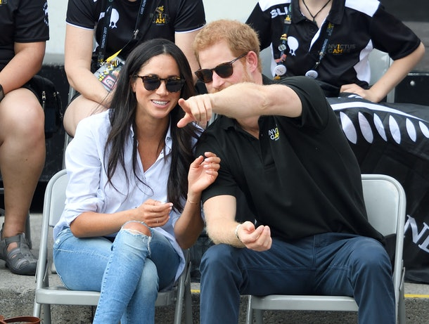Meghan Markle and Prince Harry confirmed rumors that they were dating in 2016.