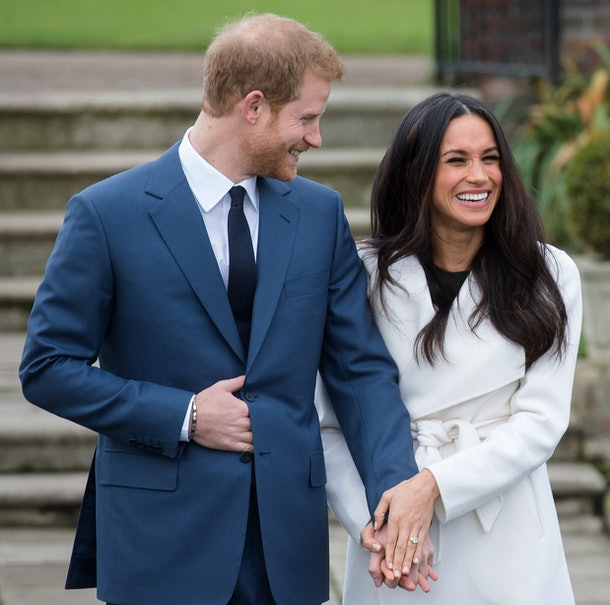Meghan Markle and Prince Harry announced their engagement in 2017.