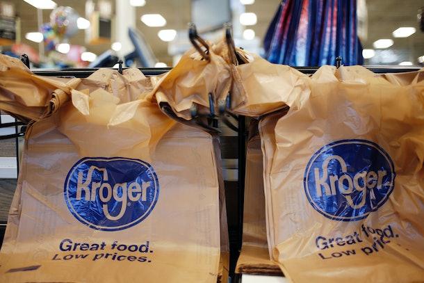 Kroger shopping bags