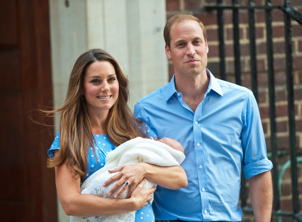 Middleton and Prince William welcomed their first child, Prince George, in July 2013.