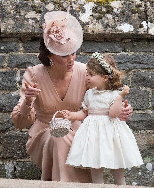 Princess Charlotte was adorable at Pippa Middleton's wedding