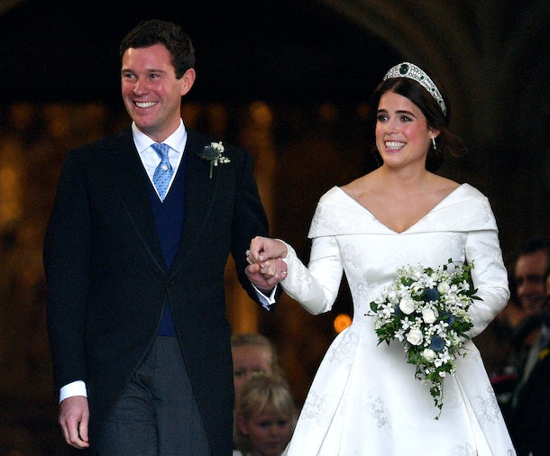 Princess Eugenie's wedding made for many sweet moments