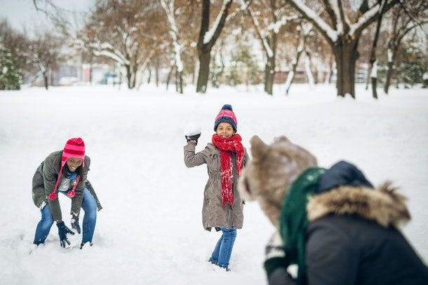 These 25 Instagram captions of kids snowy day are ideal for epic snowball fight pics.