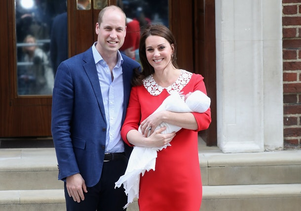 Prince William and Kate Middleton's third child was an adorable bundle of joy