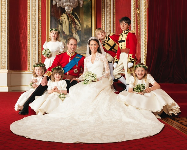 "Prince William and Kate Middleton's appearance at their wedding drew comparisons to ""Cinderella."""