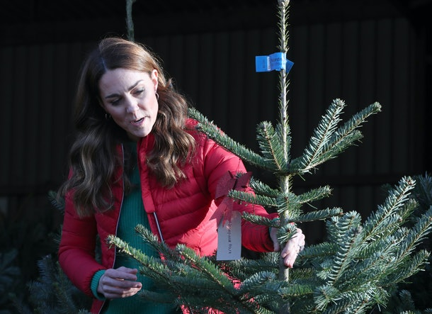 Kate Middleton favors a Christmas tree that smells good and doesn't drop too many needles.