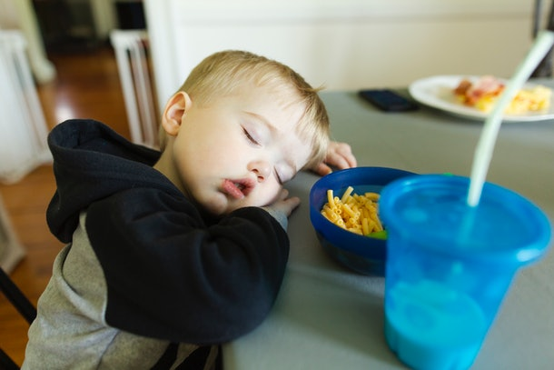 If your toddler's sleeping habits suddenly change, they might need to change their nap schedule.