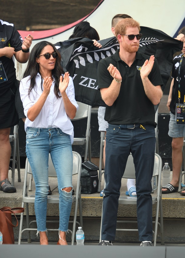 Meghan Markle can go back to wearing distressed jeans once she's no longer a member of the senior royals.
