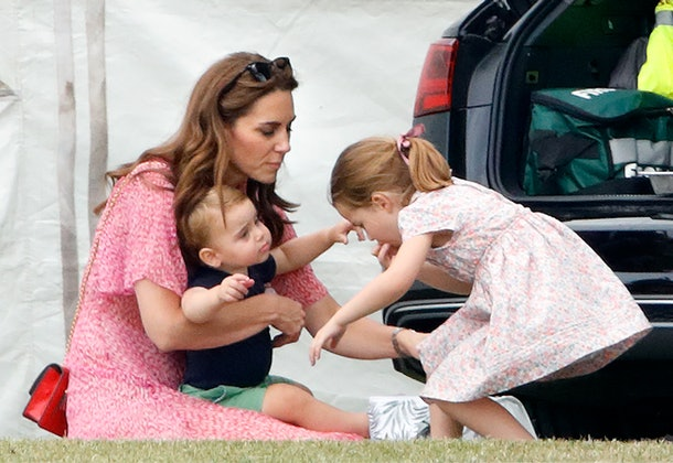 Kate Middleton has her hands full with her three kids.