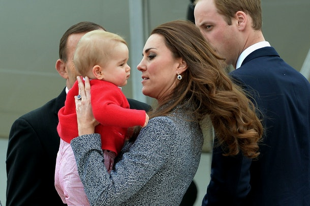 Kate Middleton admits she felt very isolated in the first months of motherhood.