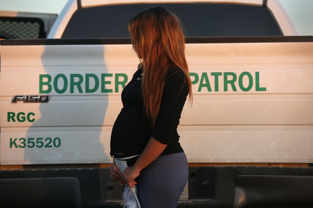 Pregnant women will be denied entry into the United States if the government believes they're coming to give birth.