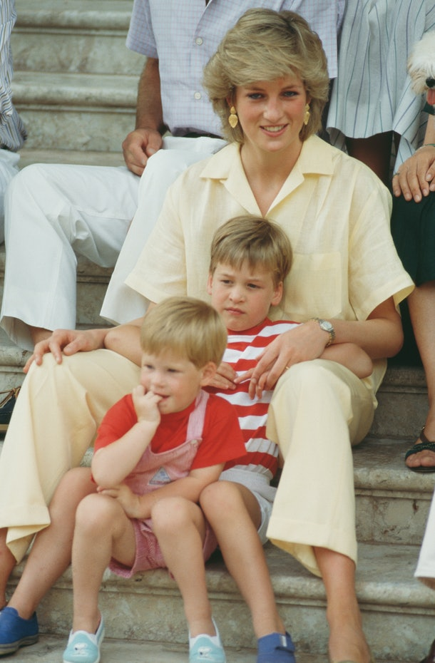 Princess Diana remains a big part of the bond between her sons.