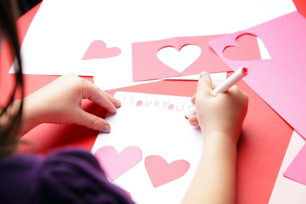 Whether they are homemade or store bought, take your kids to deliver Valentines at nursing homes.