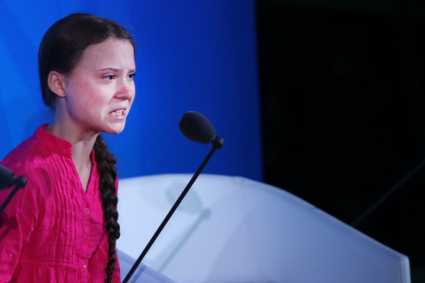Greta Thunberg got seriously emotional when speaking to world leaders about climate change in September.